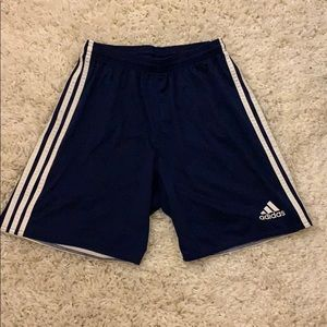 navy blue adidas shorts
